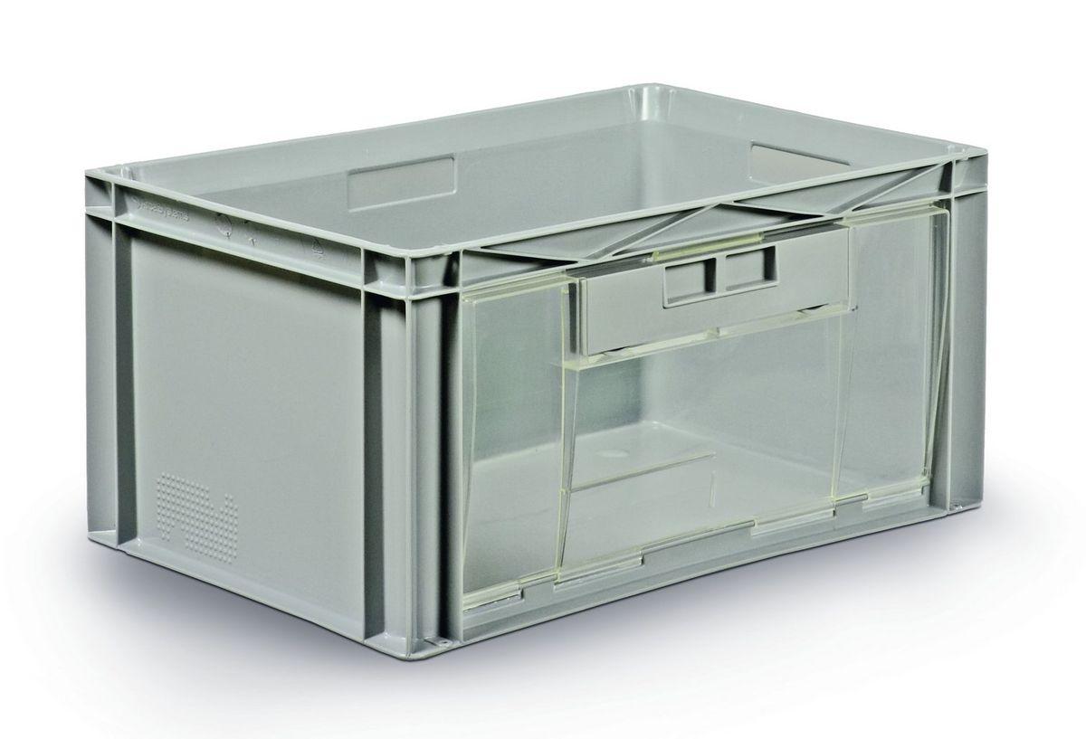 Bacs Plastique Avec Ouverture Frontale Ou Lat Rale 600x400mm