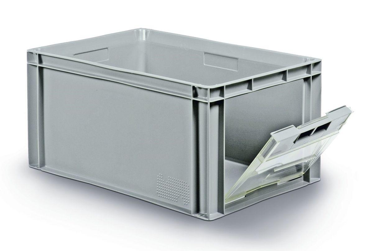 nouveaux styles 65a0f e2c93 Bacs plastique avec ouverture frontale ou latérale 600x400mm ...